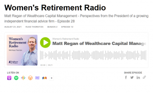 Perspectives from the President of a growing independent financial advice firm